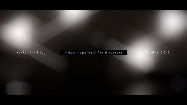 Xavier Mailliez & Antoine Géré - Art Directors - Video mapping showreel 2015