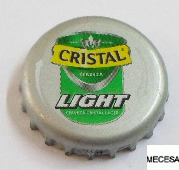 Tapa de botella: Cristal Light (Compañía de Cervecerías Unidas, Chile) Col:BE-CL-0039