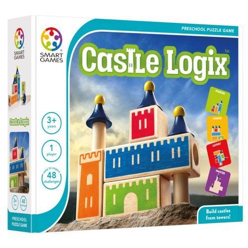 Smart Games - Castle Logix Single Player Multi Level Logic Puzzle Challenge