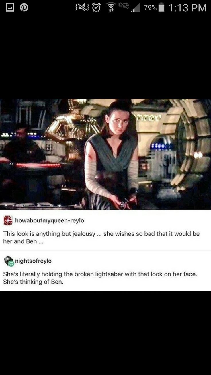 Rey deserves her happy ending. And right now she feels her happy ending is the vision she saw of her and Ben. She's heartbroken.