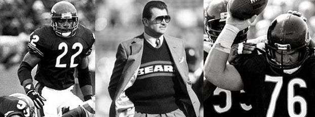 "Coach Mike Ditka, and players Jim McMahon, Otis Wilson, William ""The Refrigerator"" Perry (the gap-toothed rookie who became football's widest receiver and America's favorite appliance), Dan Hampton, Dave Duerson, Tom Thayer, and Gary Fencik were more than a football team. They had rock-star status, and then some, with a cast of characters whom Chicagoans adored in an out of uniform."