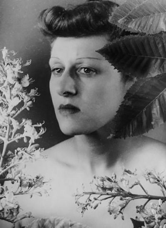 Grete Stern (1904-1999) - German, later nationalized Argentine) photographer. Self-portrait 1935
