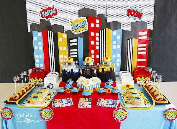 5 fiestas infantiles de superhéroes http://www.pequeocio.com/5-fiestas-infantiles-superheroes/