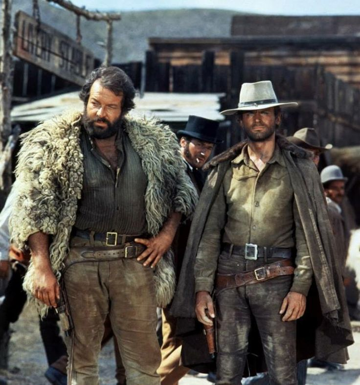 Bud Spencer & Terrence Hill. If Laurel & Hardy were action heroes. Mystery solved!