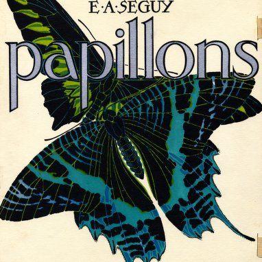 Papillons : vingt planches en phototypie colorie´es au patron donnant 81 papillons et 16 compositions de´coratives