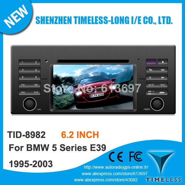 "Free Shipping 3G 6.2"" Touchscreen Car DVD For BMW E39 5 Series E53 X5 M5 With DVB-T GPS Navigation Radio RDS Bluetooth TV iPod $424.99"