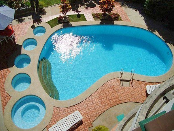 With a name like Foote.. We should have gotten this pool for kicks & giggles. :)