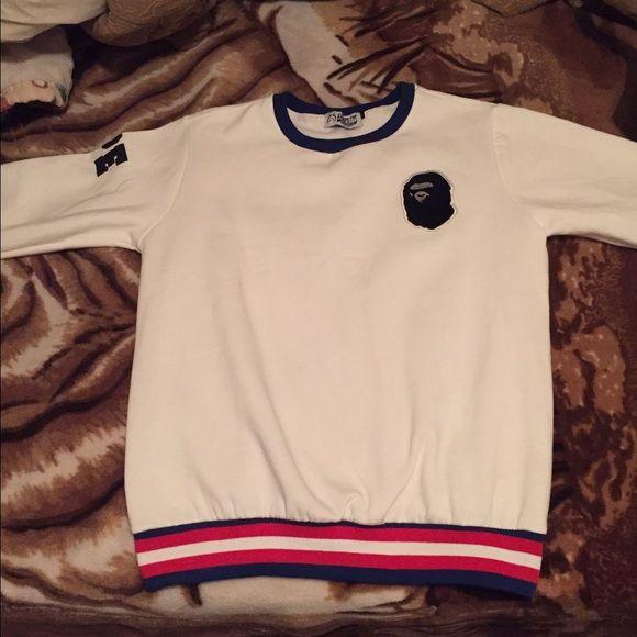 A bathing ape sweater/ fits like a medium a bathing ape sweater Bape Sweaters Crewneck