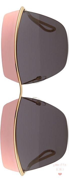Dior Metallic Colorblock-Lens Sunglasses | LOLO