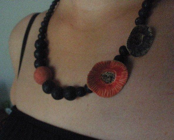 Ceramic neckles.