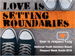It's always healthy and okay to set boundaries with people! Love is Respect! Check out this link, text hotline/free hotline!