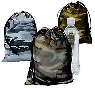 Camo Drawstring Bags