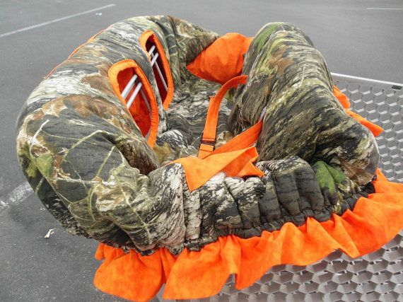 MOSSY OAK CAMO and Orange w/Ruffle Fully by CrystalsCreations22, $65.00
