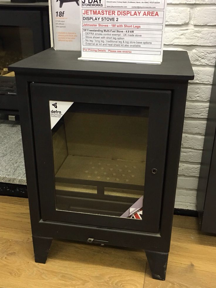 Jetmaster Stove 18f shown here with the short leg option