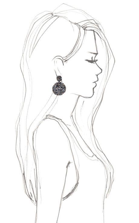 Pavo Large Nova Spherical Clip Earring by Alexis Bittar for Preorder on Moda Operandi