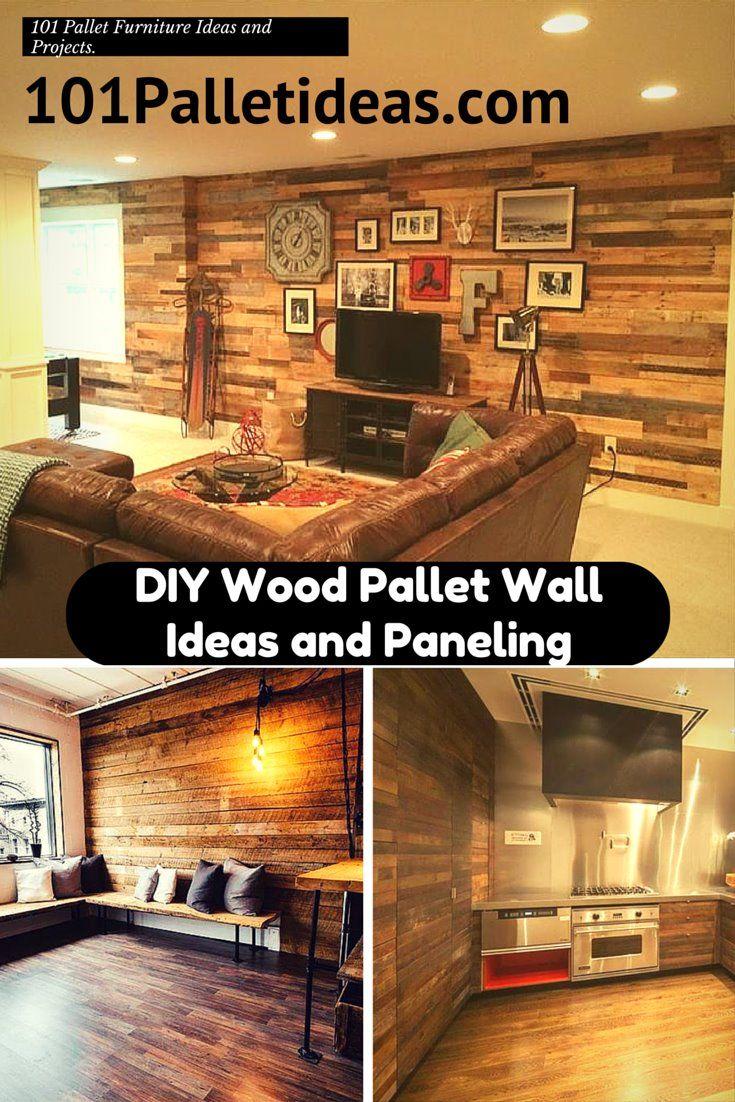 Diy Wooden Pallet Wall Decor Ideas Image Diy Wood Pallet Wall Ideas And  Paneling 101 Pallet Ideas   Pallet Design Ideas