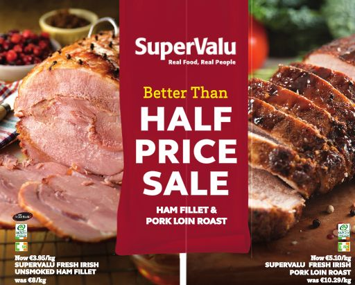 Our better than half-price sale continues!  You can see all the special offers we currently have here: https://shop.supervalu.ie/shopping/selected-offers  You can view, download and print our latest brochure here: https://supervalu.ie/offers-leaflet/701B/#p=1