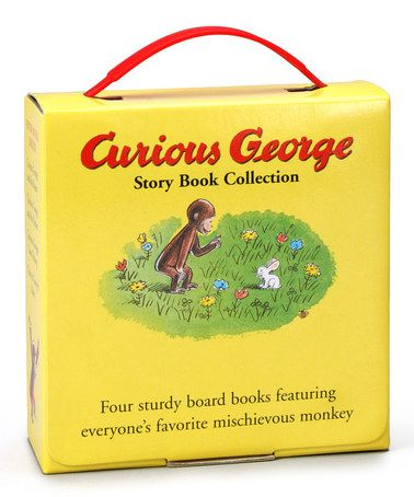 Another great find on #zulily! Curious George Storybook Collection by Curious George #zulilyfinds