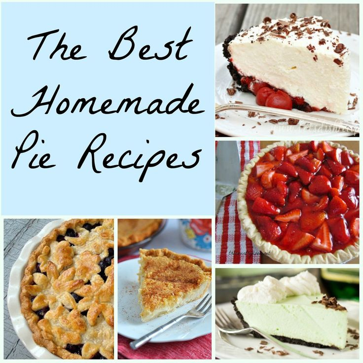 Best easy pie recipes