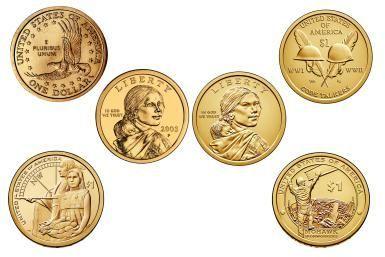 Sacagawea & Native American One Dollar Coin Values: Sacagawea and Native…
