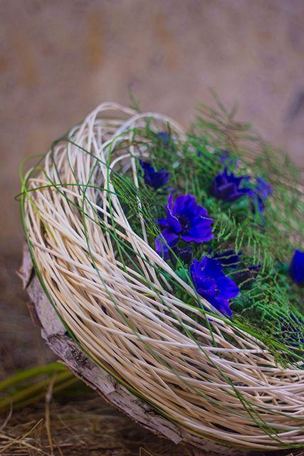 Студия флористики Slava Rosca, Spring bouquet http://slavarosca.ru/Spring-Bouquet-Weave
