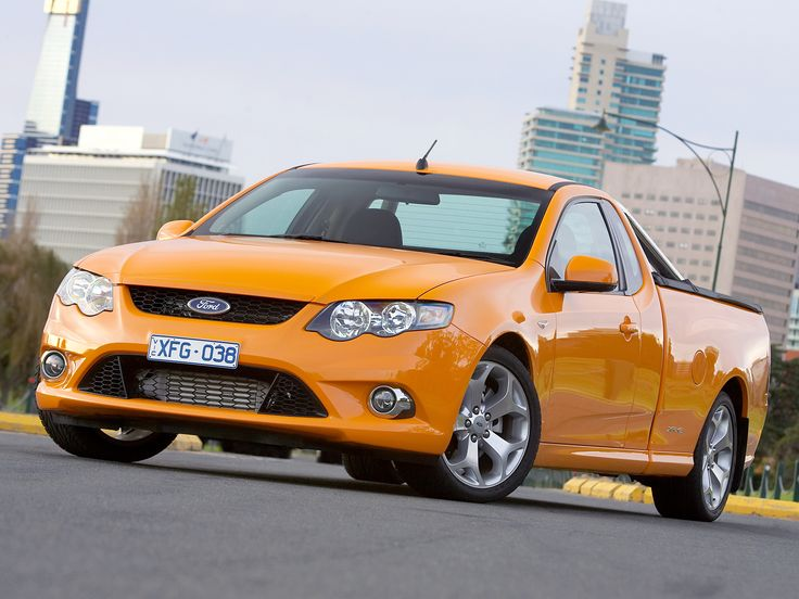 2008-11 Ford Falcon XR6 Turbo Ute