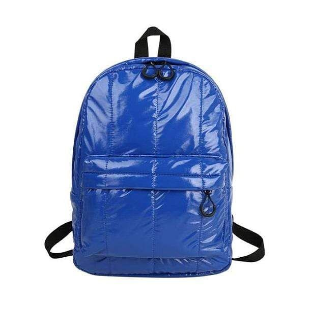 Description: This medium size Shine Bright Backpack is just what you need for school, your daily use or sports activities! The large pocket at the front gives extra room for all your necessities and selection of different colors will match perfectly any aesthetic outfit. Size: 27 x 39 x 11 cm/ 10.6 x 15.4 x 4.3 inMaterial: PU, Polyester Free shipping WorldwideDelivery time: 15-35 days Aesthetic Backpack, Aesthetic Outfit, Leather School Bag, Kids Bags, New Blue, Online Bags, Online Shopping Clothes, School Bags, Pu Leather