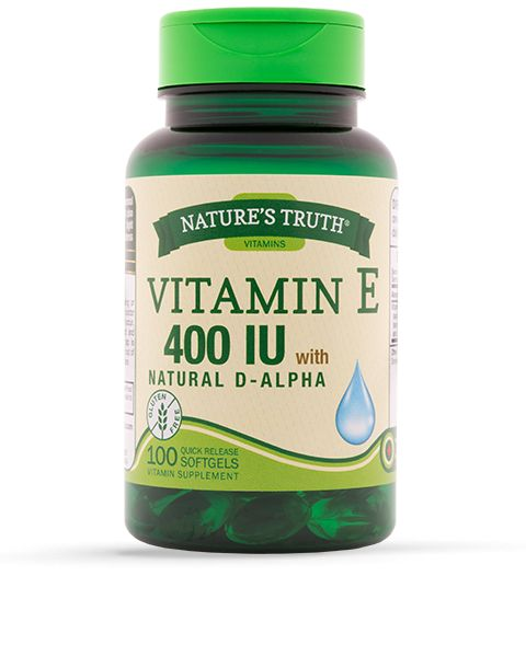 Nature's Truth Vitamin E 400 IU