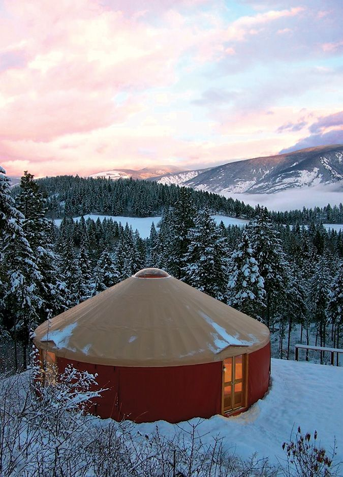 30' Yurts - Pacific Yurts