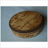 FIELDMOUSE WOODEN BOX BY RITA FATHERS