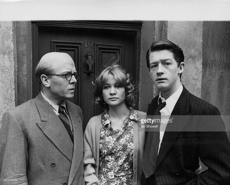 Promotional portrait of actors Richard Attenborough, Judy Geeson and John Hurt, as they appear in the film '10 Rillington Place', May 17th 1970.
