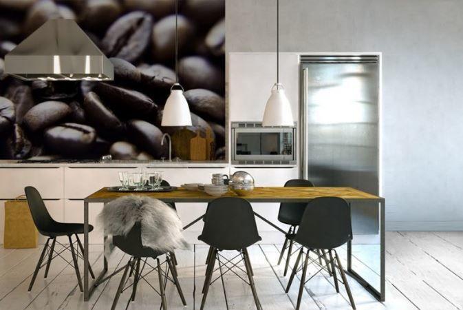 Kawę na ścianę?  Alternatywą dla wielobarwnej mieszanki owocowej jest kawa – elegancka, stonowana, neutralna, a zarazem kojarząca się przyjemnym kofeinowym ożywieniem.    #kawanasciane #obrazkawa #fototapetakawa #DecoArt24