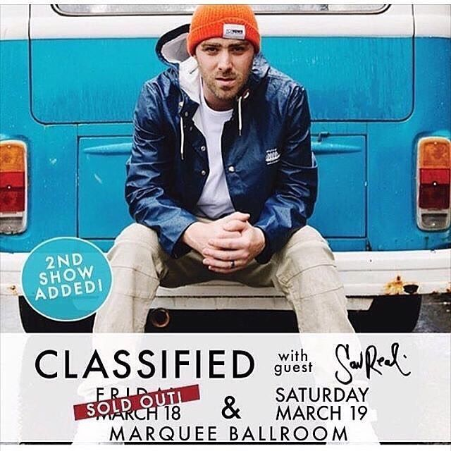 LAST CALL winner gets picked when I wake up tmro  you know what to do. --- @sonicconcerts hooked me up with a pair of tickets for the Classified  SonReal show at the Marquee on SAT MAR 19 ......... win access for you and a friend.  Here's how the contest works: .  1. Follow @halifaxnoise on Instagram 2. Like this photo 3. Tag a friend you want to take to the show.  We'll randomly pick a winner on the Wednesday before the show. .  You can tag multiple friends for multiple chances and they can…