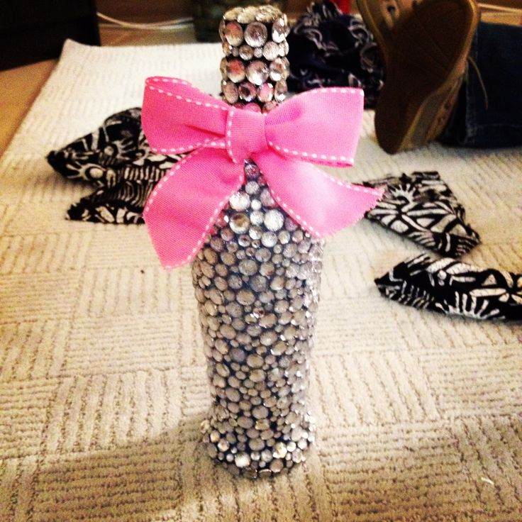 Decorated Alcohol Bottles For Birthday: 25+ Best Ideas About Bedazzled Bottle On Pinterest