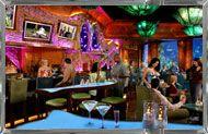 Mermaid Restaurant. With aquarium and underwater performing mermaid