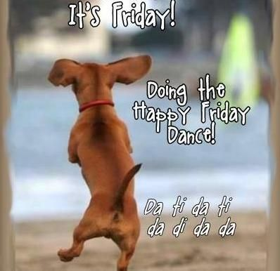 EVERYBODY!! Do the #FRIDAY dance!! Shake it, shake it!