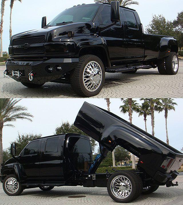 Chevrolet Kodiak C4500 Throttlextreme Com Lifted Ford Trucks Kodiak Truck Big Trucks