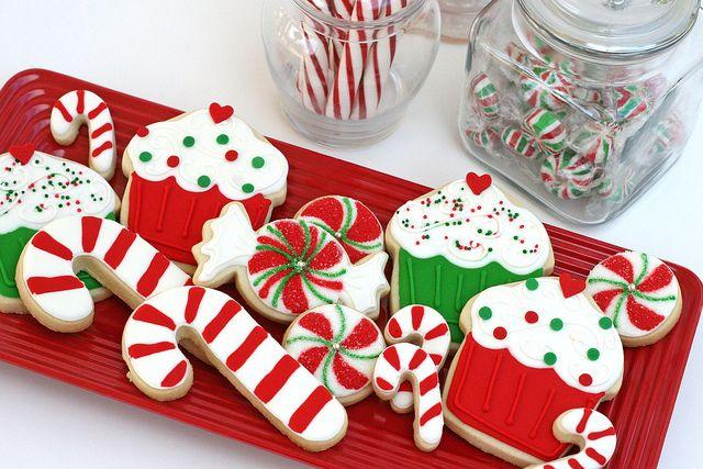 """Sweet"" Christmas Cookies  : Christmas Baking, Christmas Cookies, Cupcake, Cookies Decor, Holidays Cookies, Decor Cookies, Christmas Sugar Cookies, Candy Canes, Cookies Recipes"