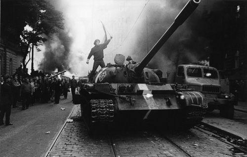 Russian Tank in Prague - Josef Koudelka