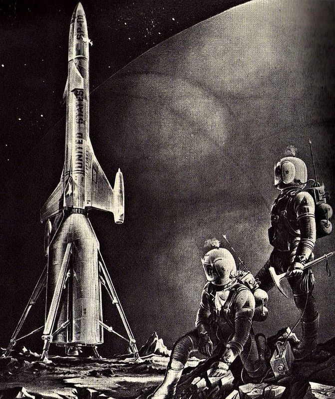 Dark Roasted Blend Retro Future Space Art Update: 17 Best Images About Retro-Futuristic Space Art On