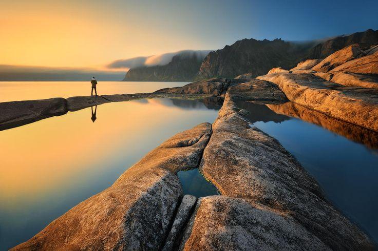 In the Far North... - Norway, Senja, Okshornan - July 2013    http://www.facebook.com/Pawel.Kucharski.Photography