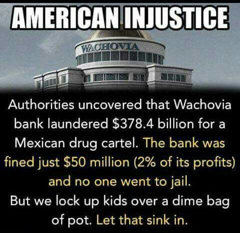 And this is just one of many such instances! The justice system in this country is rigged toward rich white men.