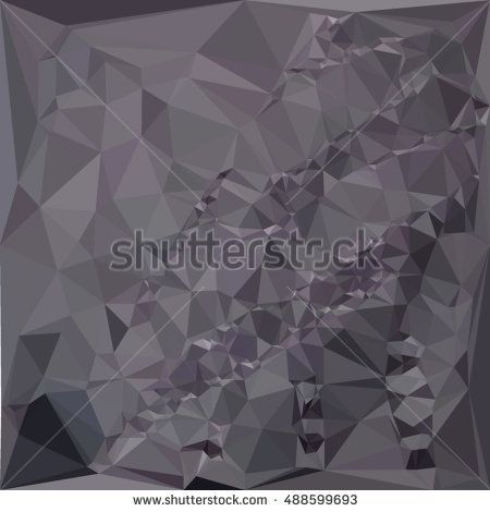 Low polygon style illustration of a dark liver lavender abstract geometric background. #abstractbackground #lowpolygon #illlustration