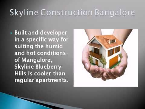 Skyline Blueberry Hill constructed by Skyline construction Bangalore