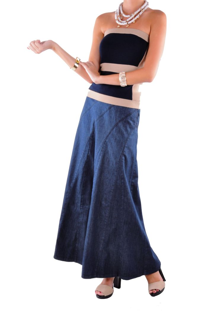 style j navy jean skirt denim skirts