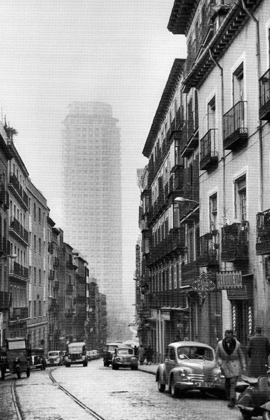 Spain. Calle de Leganitos, Madrid, 1960