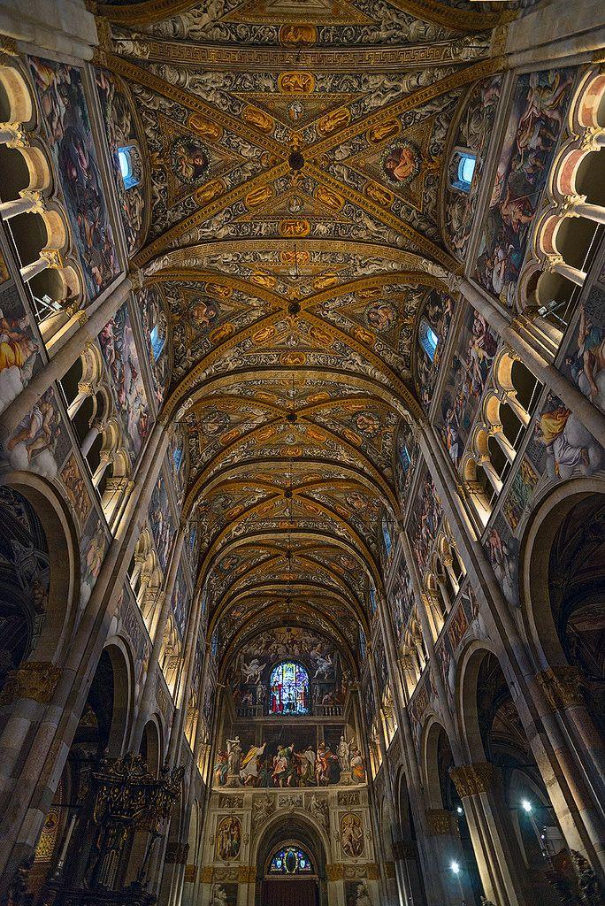Ceiling | Duomo di Parma, Italy