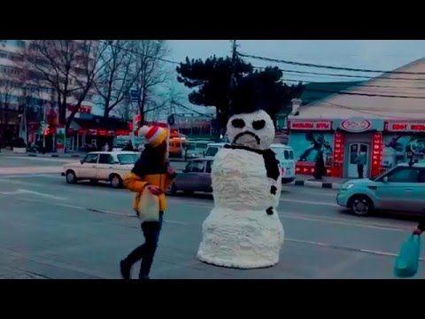 Страшный Анапский снеговик