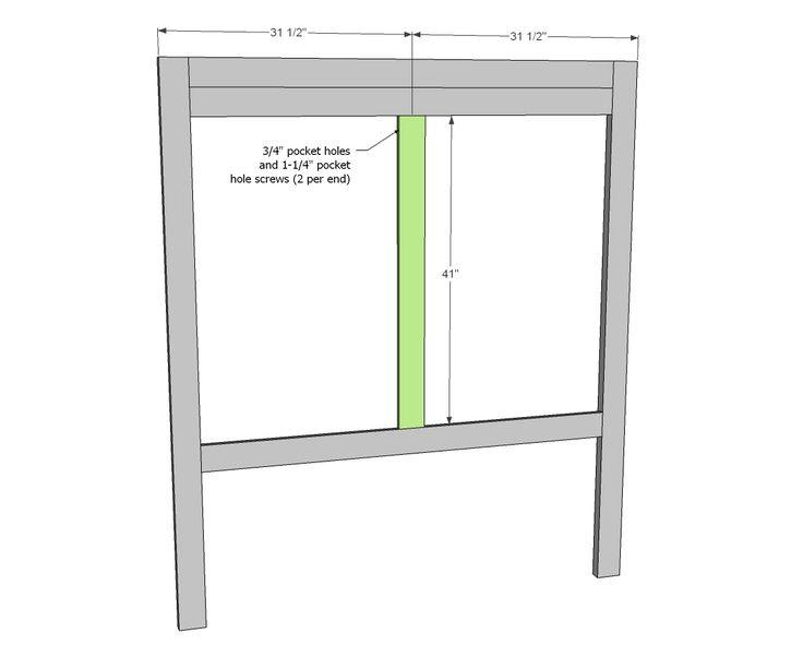 ana white build a tall panel headboard queen free and easy diy project paletten kopfbrettideen kopfteilknigin - Diy Knigin Kopfteilplne