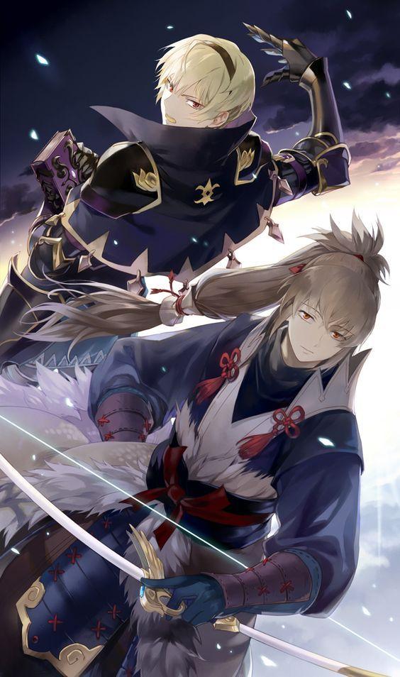Fire Emblem: If/Fates - Leon and Takumi: